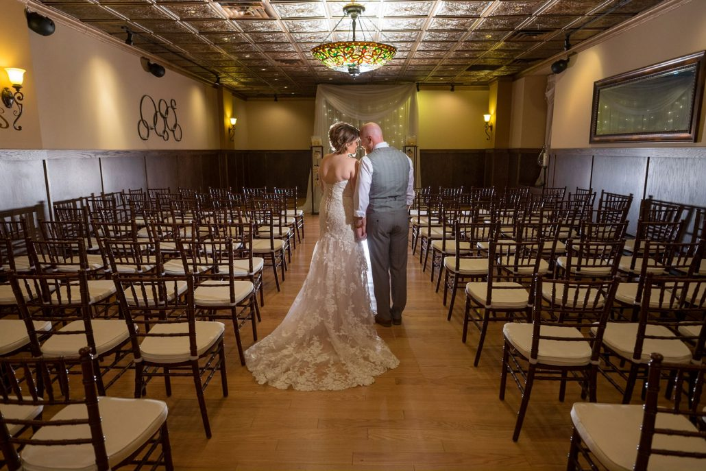 Ceremony In Reception Room: St. Paul Wedding And